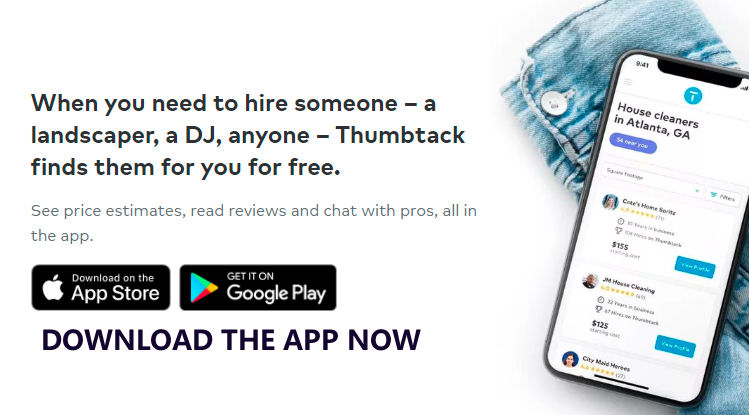 Cleaners, Handymen, Movers – Apps